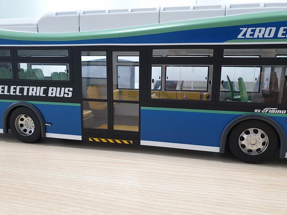버스 모형 제작 사례 02