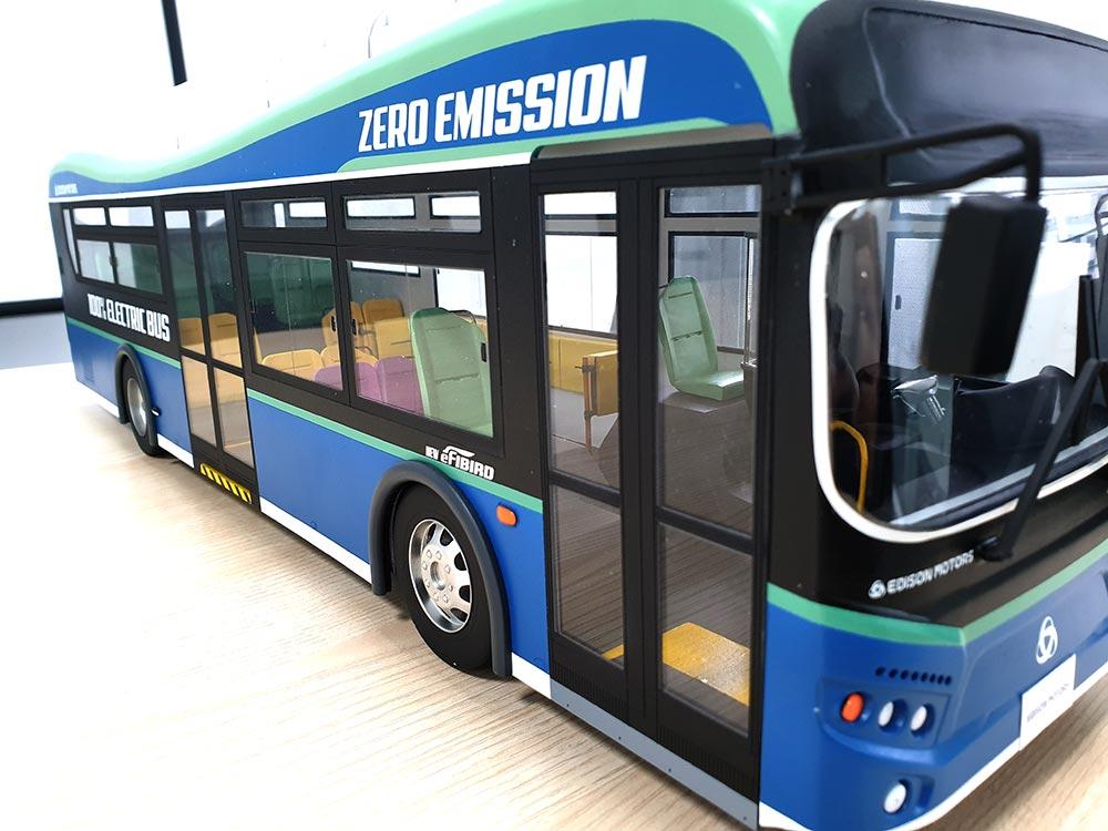 버스 모형 제작 사례 01