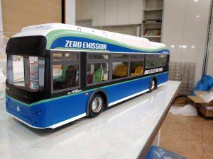 버스 모형 제작 사례