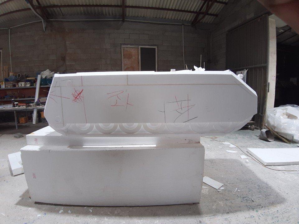 스티로폼 모형 제작