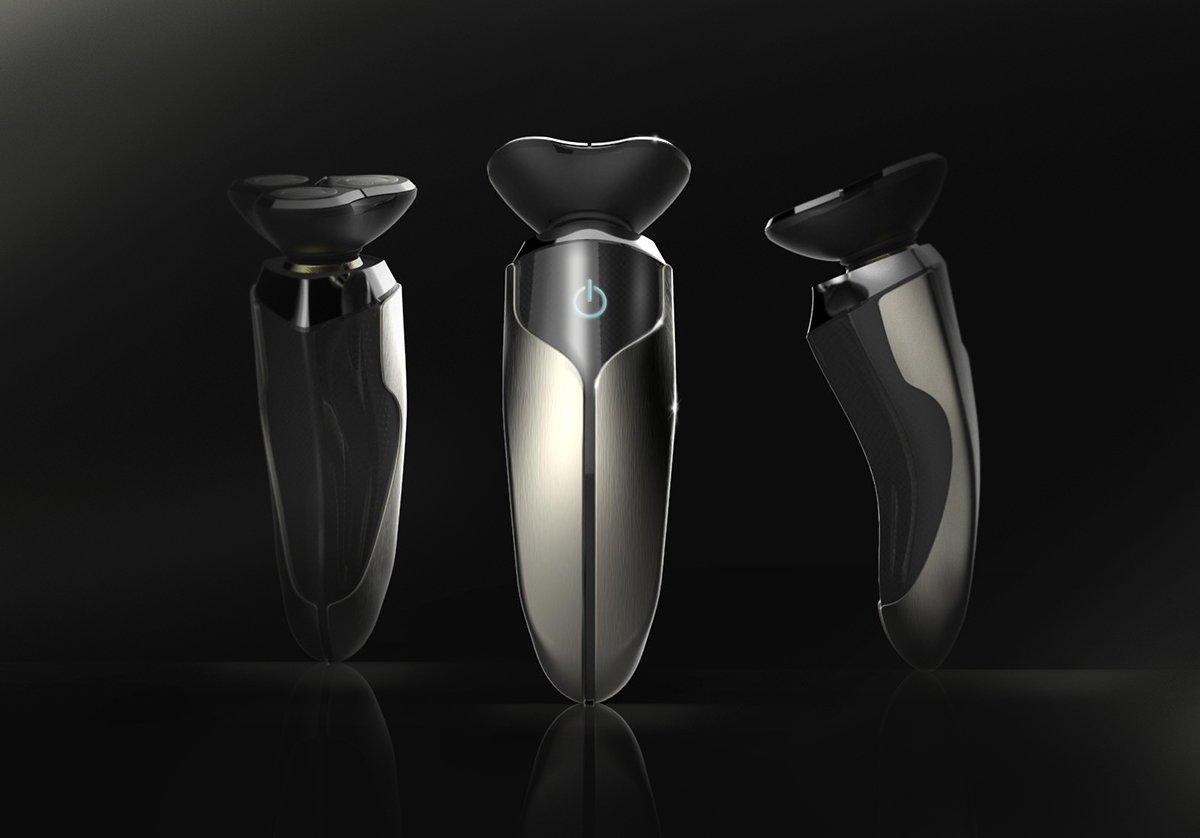 면도기 컨셉 디자인