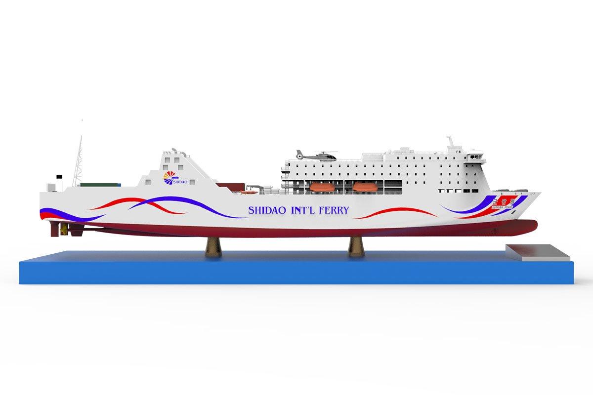 선박 모형 모델링
