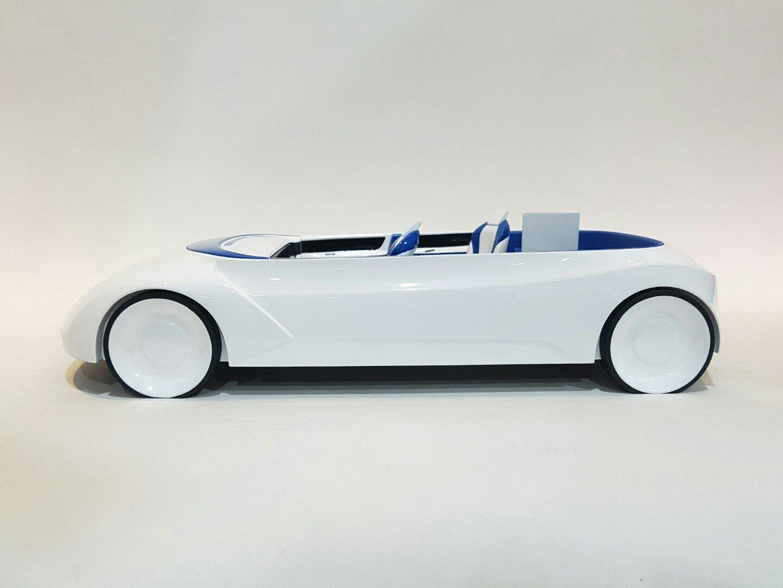 자동차 모형 3d프린터 졸업 작품 제작 사례