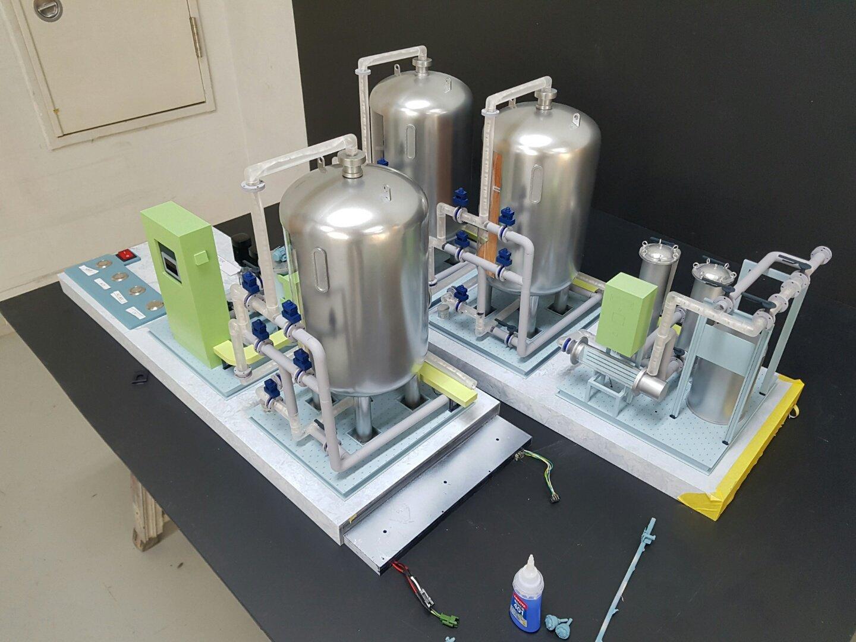 정수 시스템 모형 03