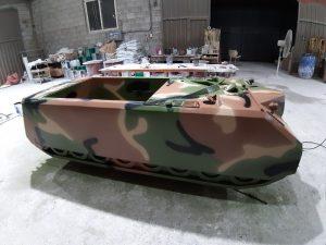 전차 대형 모형