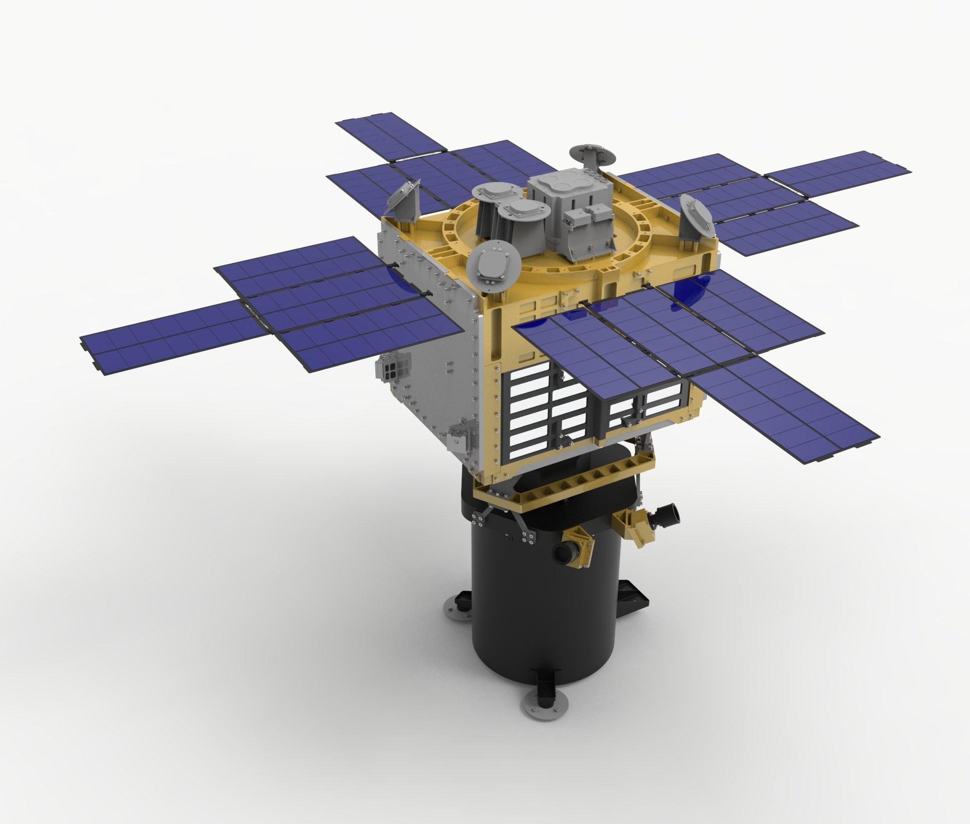 위성 모형 디자인 설계
