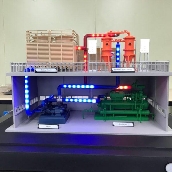 3d프린터 LED 모형 제작 사례
