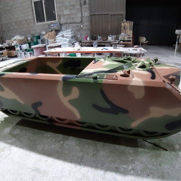 FRP 전차 모형